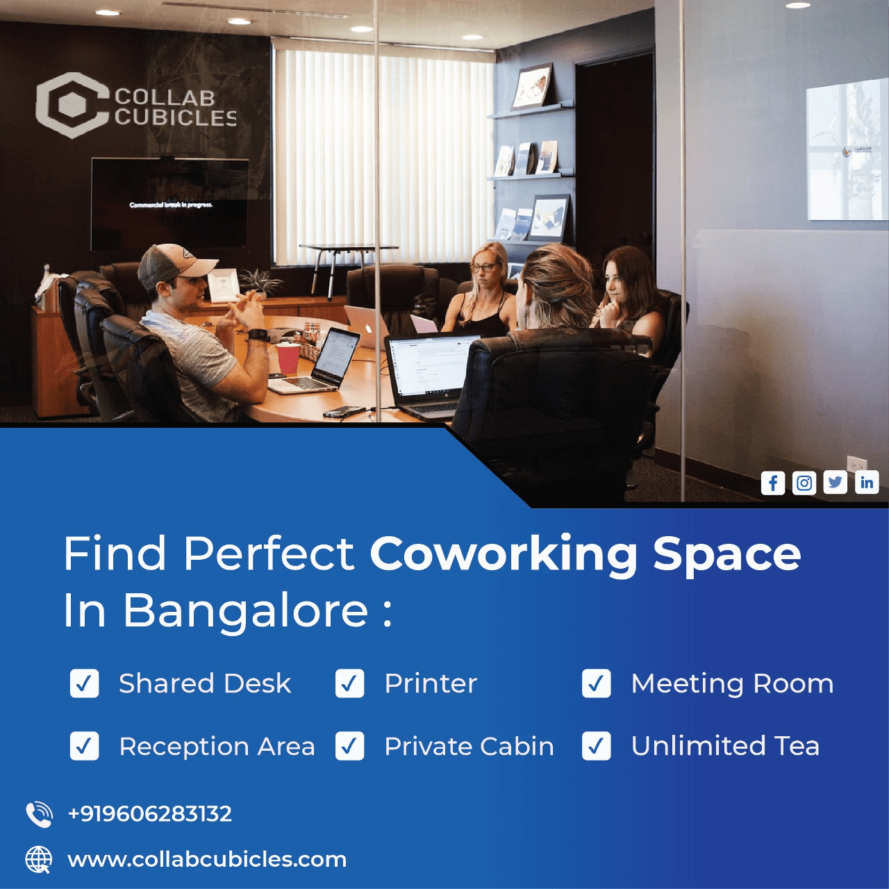 Co working spaces and a paradigm shift