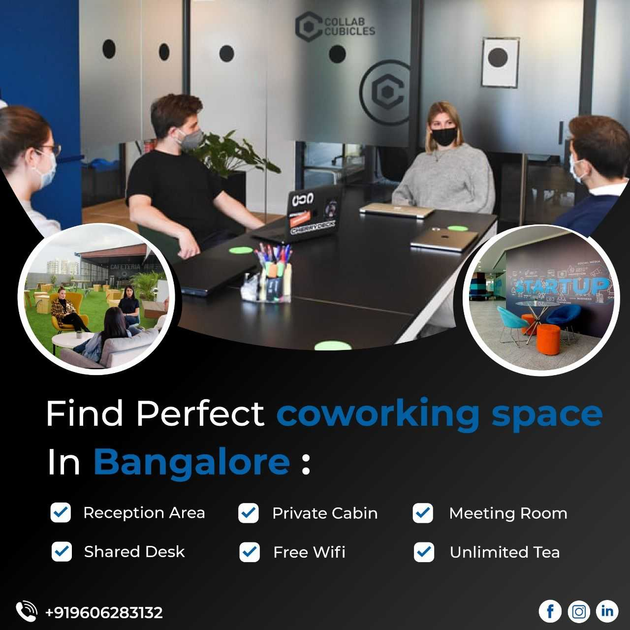 Look for Cheap Meeting Rooms Bengaluru that include ample sufficient Space